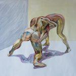 wrestler art painting nude buy online